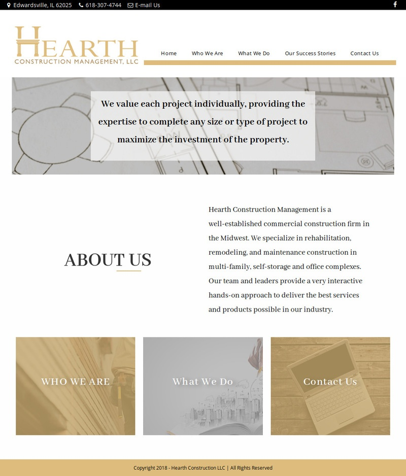 Hearth Construction
